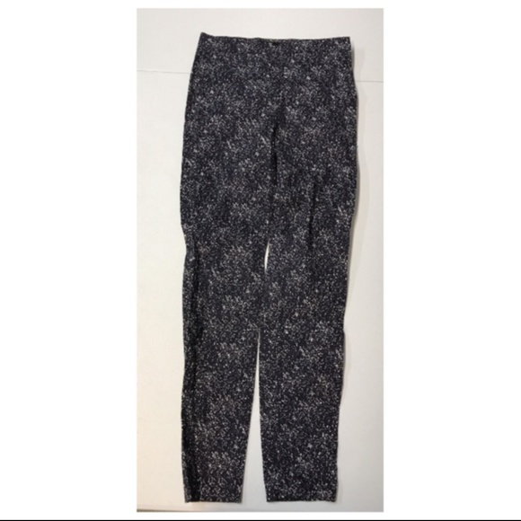 acdc709d7669 H&M Pants | Hm Skinny Navy Blue 6 Small Womens Graphic | Poshmark